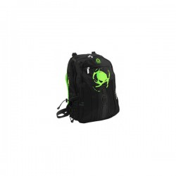 "MOCHILA KEEP OUT BK7G 15.6"" NEGRA VERDE"