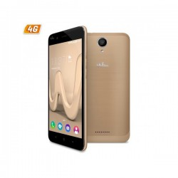 "TELEFONO MOVIL WIKO HARRY 4G ORO 5""-QC1.3-16G-3GB"