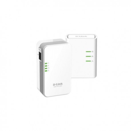 ADAPTADOR RED D-LINK PLC 500MBPS KIT 2UN WIFI N300