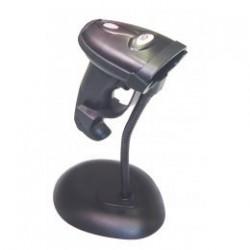 LECTOR LASER 10POS LS-270UN NEGRO USB CON SOPORTE