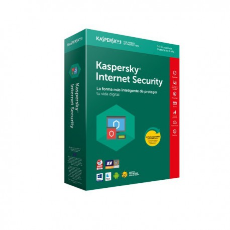 ANTIVIRUS KASPERSKY 2018 10 US INTERNET SECURITY