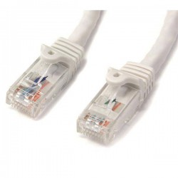STARTECH CABLE RED ETH. CAT6 SNAGLESS 1M BLANCO