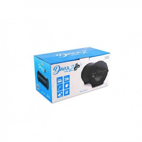 ALTAVOZ 3GO BLUETOOTH DAVUL2 BT-SD-USB-RADIO 10W