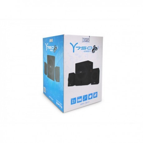 ALTAVOCES 3GO 2.1 Y750 SD-USB-RADIO 42W