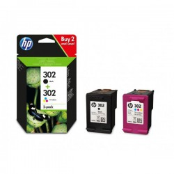 CARTUCHO HP 302 PACK 2 NEGRO + COLOR