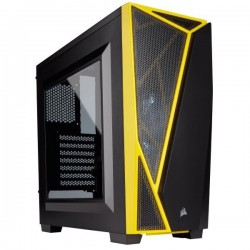 CAJA CORSAIR SEMITORRE CARBIDE SERIE SPEC04 YELLOW