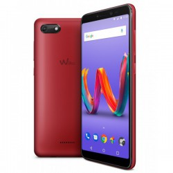 "TELEFONO MOVIL WIKO HARRY2 CHERRY RED 5.45""-QC1.3-16GB-2GB"