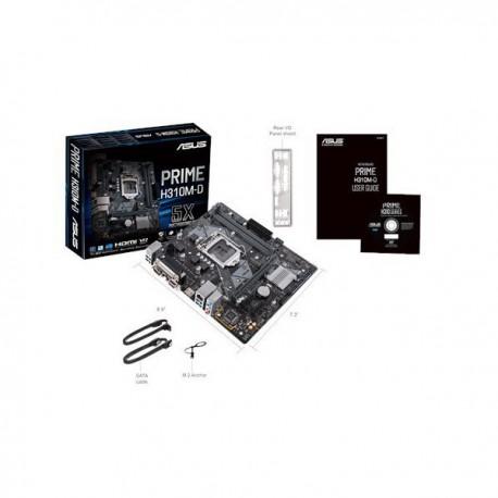 PLACA BASE 1151 CF ASUS H310M-D MATX-DDR4-HDMI