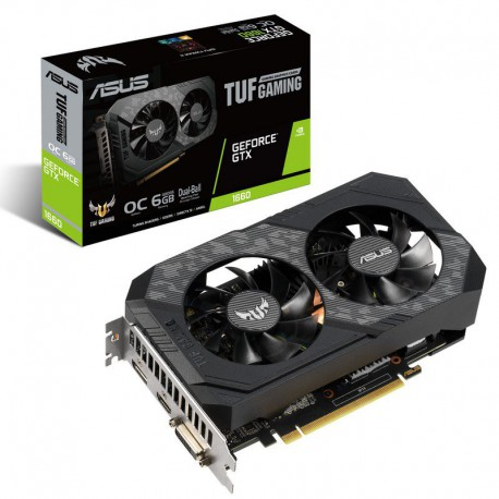 GRAFICA GEFORCE ASUS TUF-GTX1660-O6G-GAMING