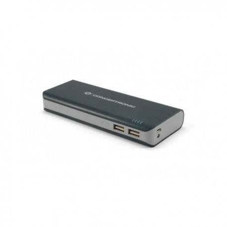 CARGADOR USB POWER BANK CONCEPTRONIC 12500 LINTERNA