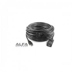 CABLE USB 2.0 ALFA 5M ACTIVO M-H