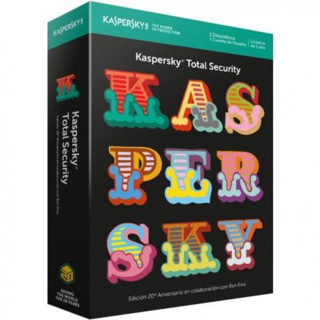ANTIVIRUS KASPERSKY 2017 2US INTERNET SECURITY