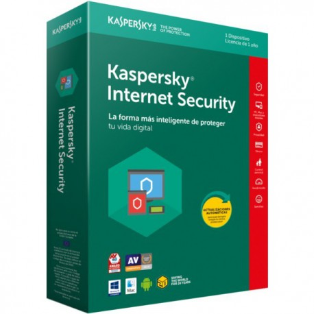 ANTIVIRUS KASPERSKY 2018 1 US INTERNET SECURITY