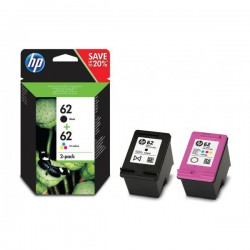 CARTUCHO HP 62 J3M80AE PACK TWING NEGRO Y COLOR