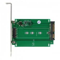 STARTECH ADAPTADOR SSD M.2 A SATA MONTAJE EN RANUR