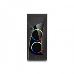 CAJA ATX SHARKOON NIGHTSHARK LITE USB3.0 NEGRA RGB
