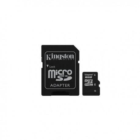 MEMORIA MICRO SD 16GB KINGSTON 1ADAP