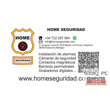ALARMAS Y CAMARAS DE SEGURIDAD, HOME SEGURIDAD