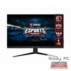 "MONITOR GAMING 27"" MSI G271 IPS FHD 144HZ HDMI"